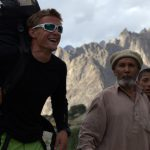 Heaving greetings from the greatest Pakistani mountain guide, Little Karim