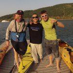 Kayak near Sofia with Tosho and Kennio