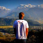 "Nepal Pokhara ""Infinity Himalaya""  film photo by Horacio Llorens"