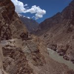 Karakorum Higway in cristal conditiones with zero trafic just alone on the road  (9)