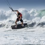Kauai Igor Maui kite some big waves photo by Stefan Iliev