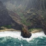 Kauai Napali Coast from the air by Stefan Iliev