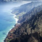 Kauai Napali Coast from the air photo by Stefan Iliev