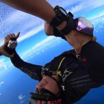Sky dive session