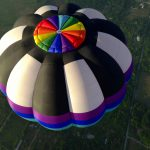 Amazing last day in Mexico Monterrey Balloon roll over jump and great acro over the burning clouds photo by Jose - Fabul