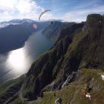 Aurland acro flight photo Ondrej Prochazka