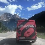Searching for flying site in the dolomites with Ivo