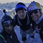 at the exit of Eiger with Tom and Steve